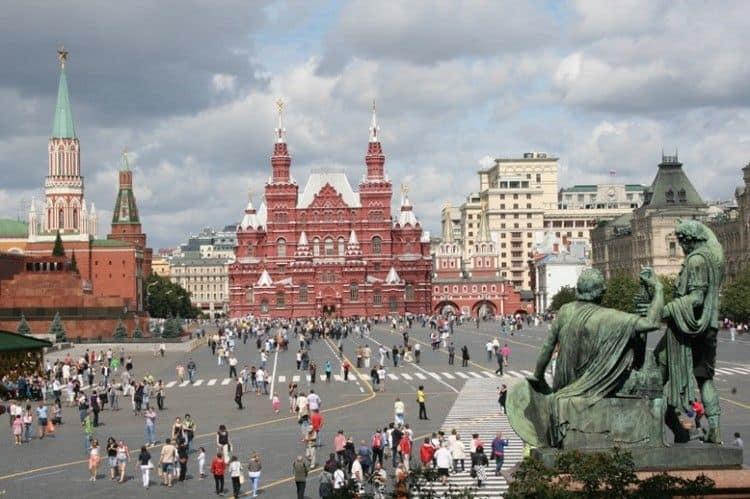 Lugares para visitar en Moscú