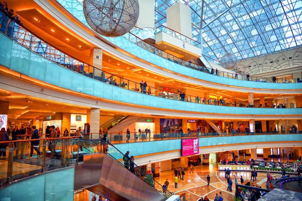 Visitar los Centros comerciales en Moscú