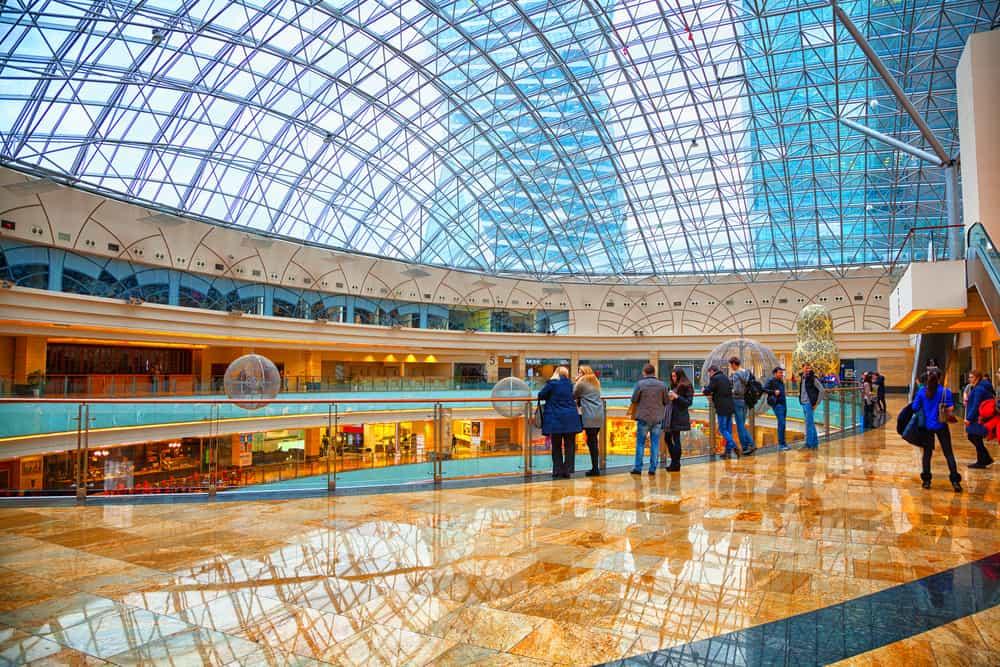 Centro comercial AFIMOLL de Moscú
