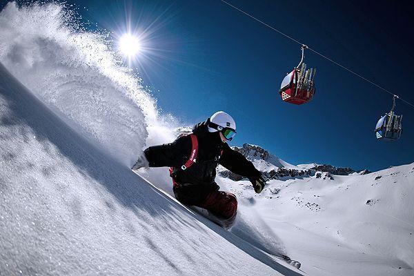 Esquiar en Rusia