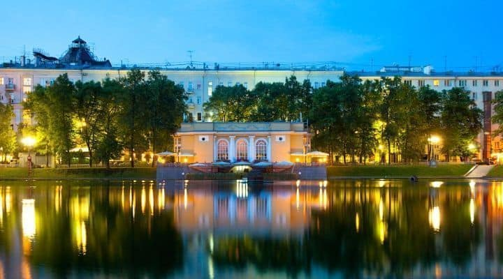 Excursionar en el parque del patriarca en Moscú; Visitar el parque del patriarca en Moscú; Que parques ver en Moscú