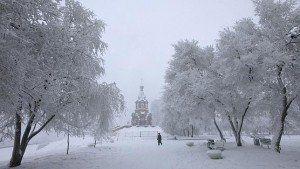 Sobre el frío; Rusia, Círculo Polar Ártico