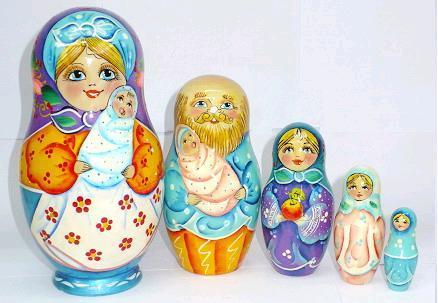 Que son las Matrioskas rusas