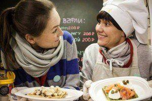 Festival de comida típica rusa