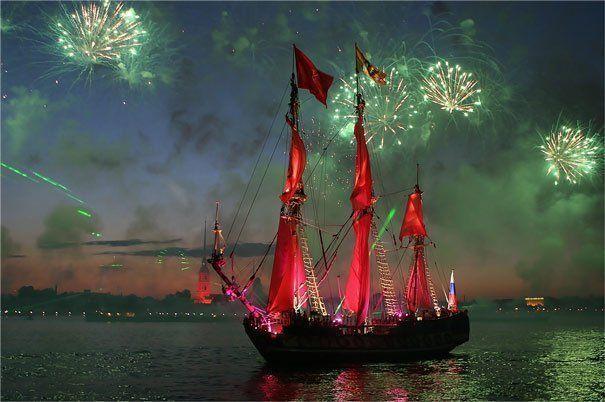 Que hacer en San Petersburgo; Ir al festival de noches blancas en San Petersburgo; Festivales que ver en San Petersburgo