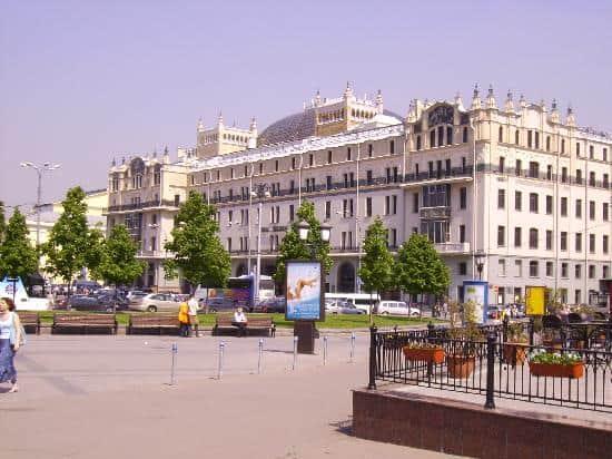 Hospedarse en el Hotel Metropol Moscú; Donde hospedarse en Moscú; Lugares para dormir en Moscú