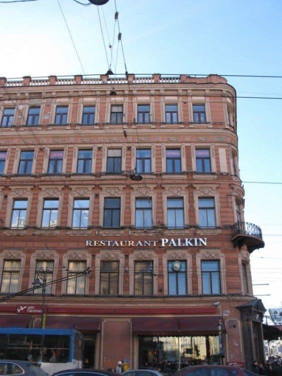 Donde comer en San Petersburgo