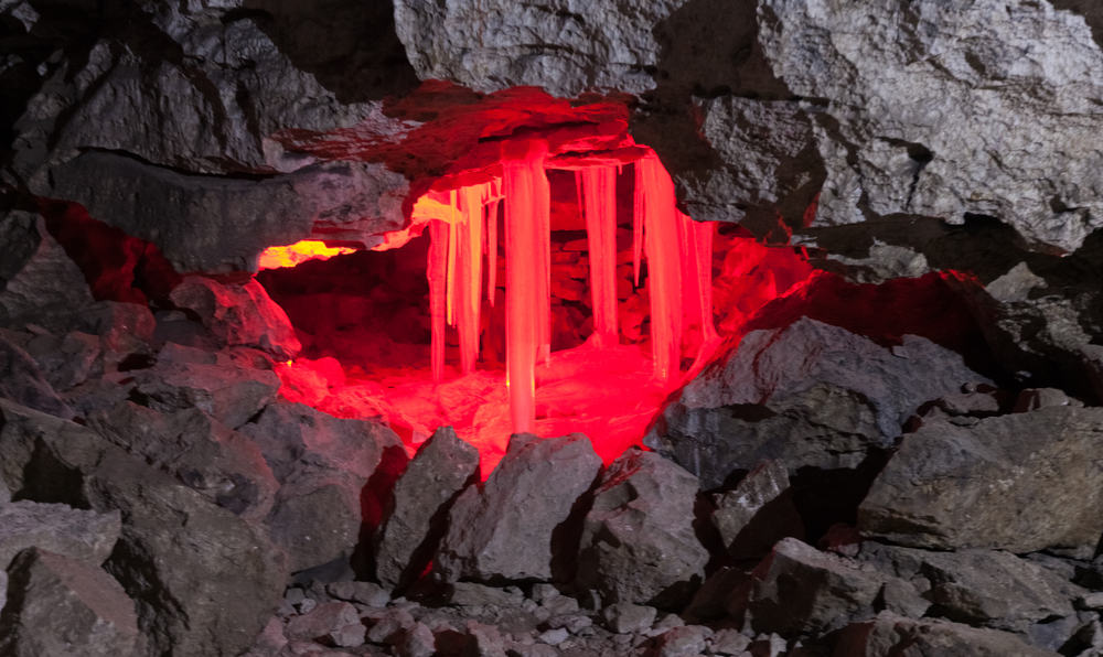 Visitar la cueva de hielo de Kungur