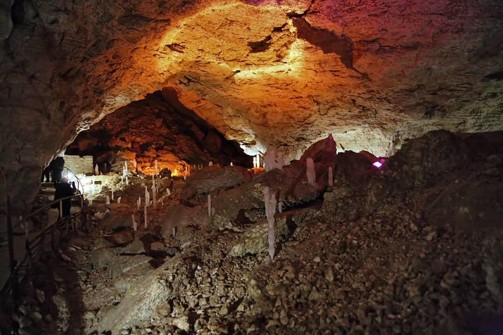 la cueva de hielo de Kungur