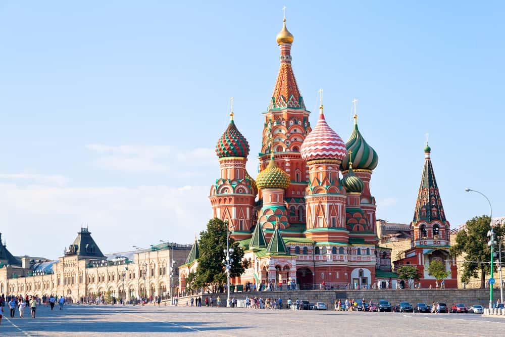Viaja a Rusia, Moscú