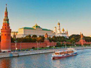 Kremlin de Moscú desde el Río