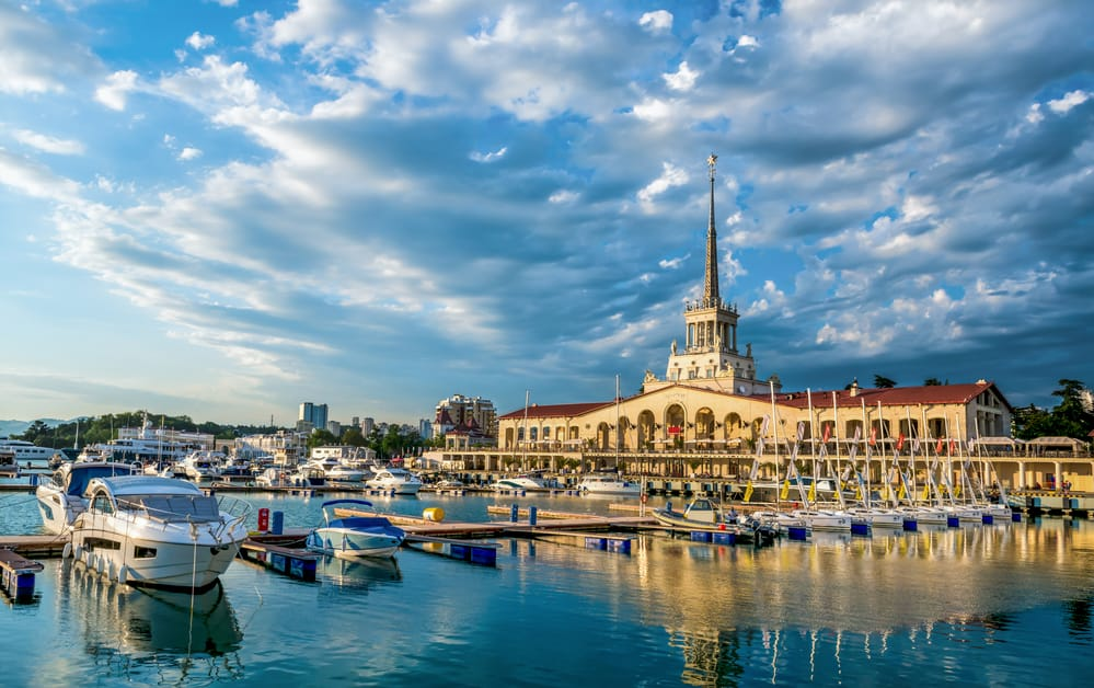 Lugares para tomar el sol en Rusia. Sochi
