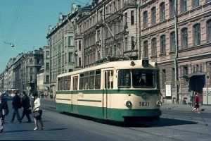 Tranvia San Petersburgo