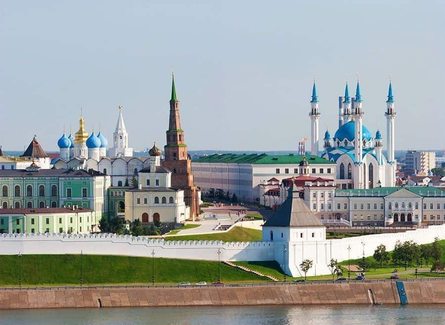 Visitar lugares interesantes de Kazán Visitar el Kremlin de Kazán; Que ver en la ciudad de Kazán