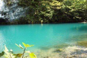 Los lagos azules