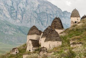 La ciudad de los muertos en Cáucaso