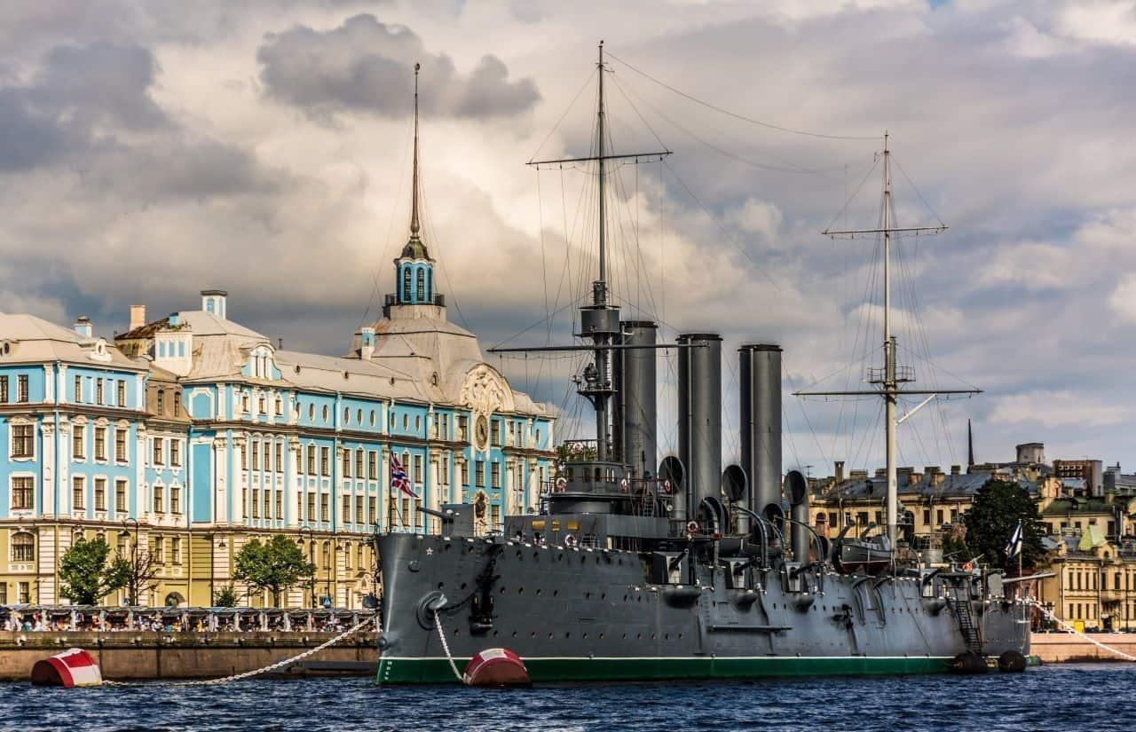 Hacer tour en el cuiser Aurora en San Petersburgo; Excursionar en el buque Aurora en San Petersburgo; Que ver en San Petersburgo