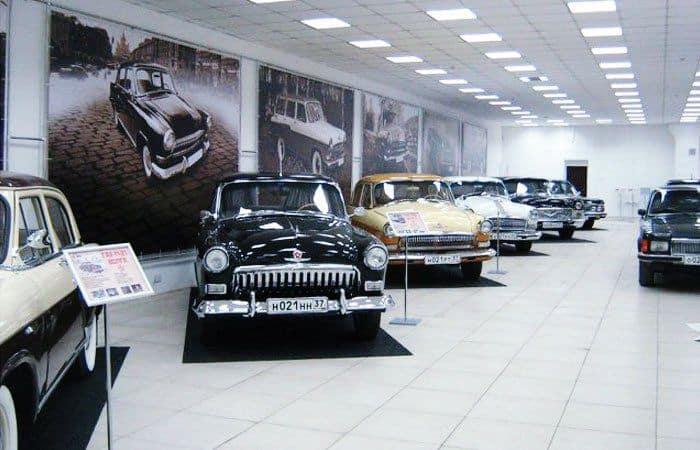 Museo de la Industria del Automóvil Soviética en Ivanovo; Ivanovo