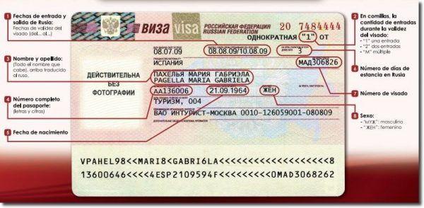 Como obtener la visa rusa; Visa turística rusa; Como obtener el visado turístico ruso