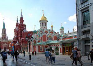 Catedral de Kazan; Plaza Roja de Moscú; Historia