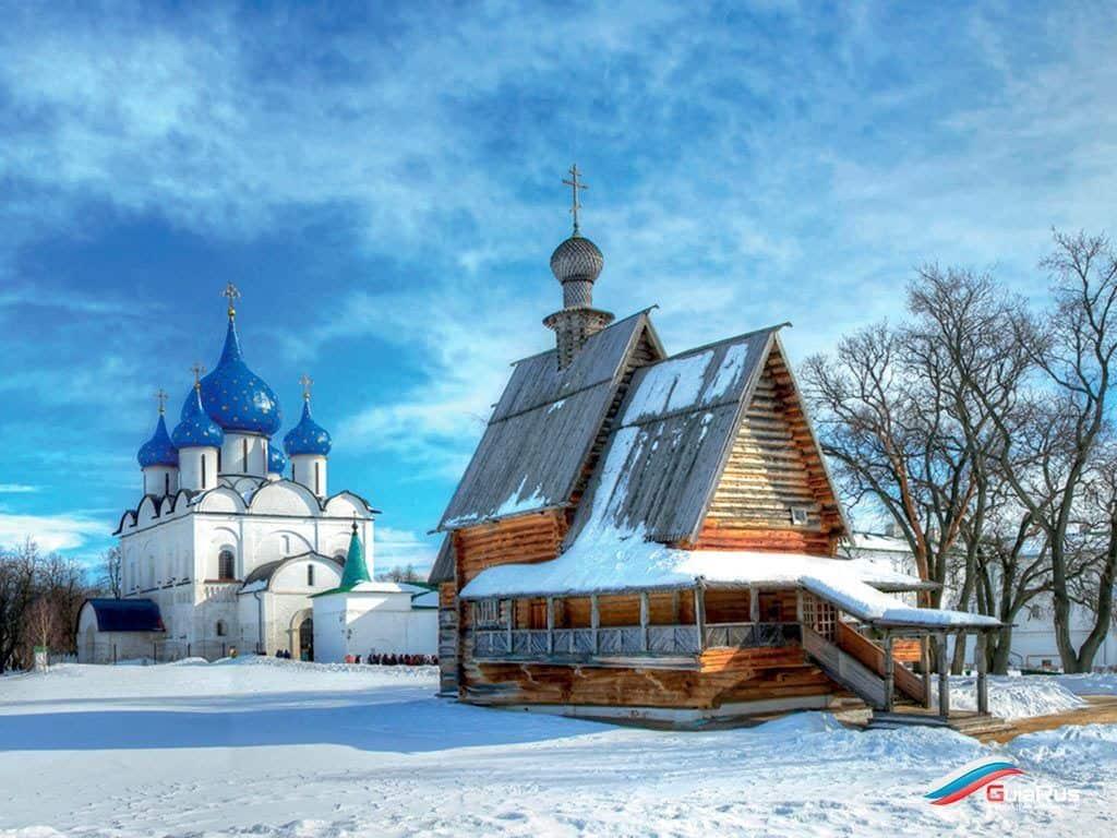 Orthodox church Church of the Transfiguration. Banknote 100 rubles Ivanovo