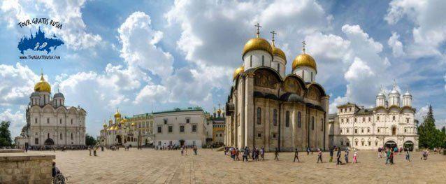 plaza de las catedrales del kremlin