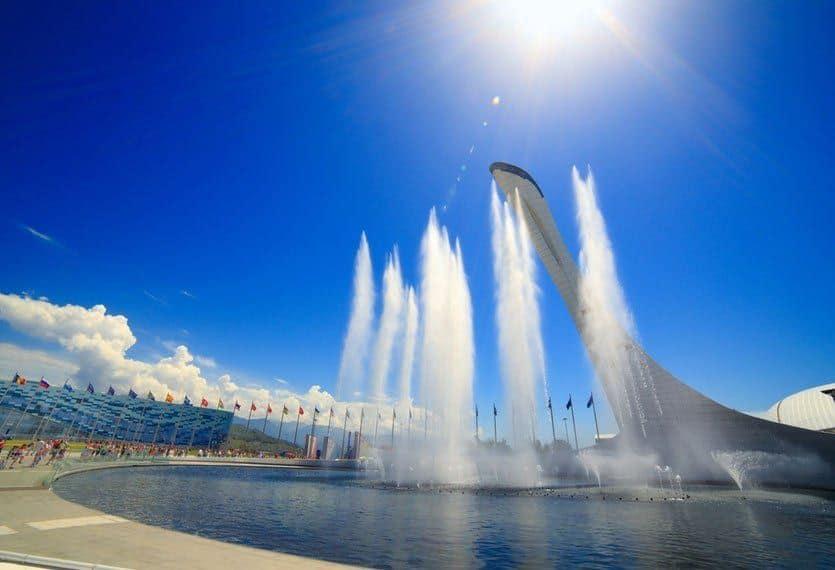 estadio olimpico de Sochi, Entretenimiento en Sochi