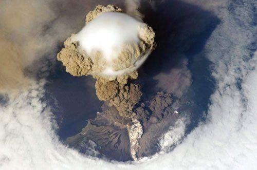 Los volcanes más asombros en Rusia