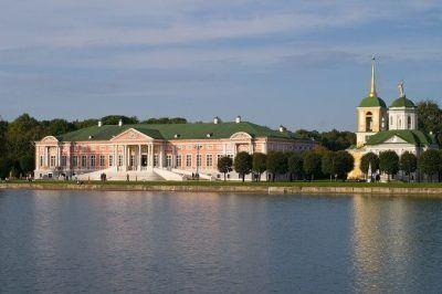 Galería de tiro al aire libre; Galería de tiro; Parque Kuskovo