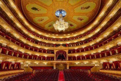 Tour guiado por el interior del teatro Bolshoi