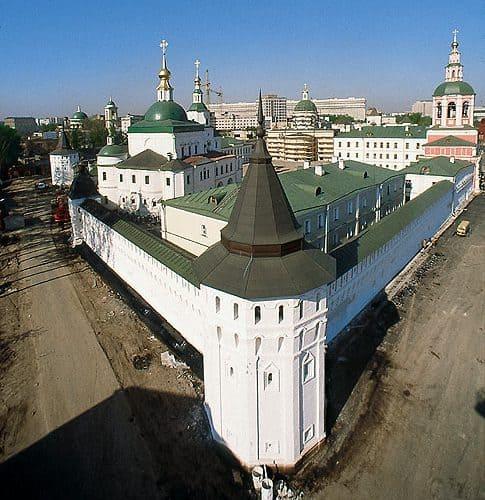 Murralla exterior del Monasterio de Danilov
