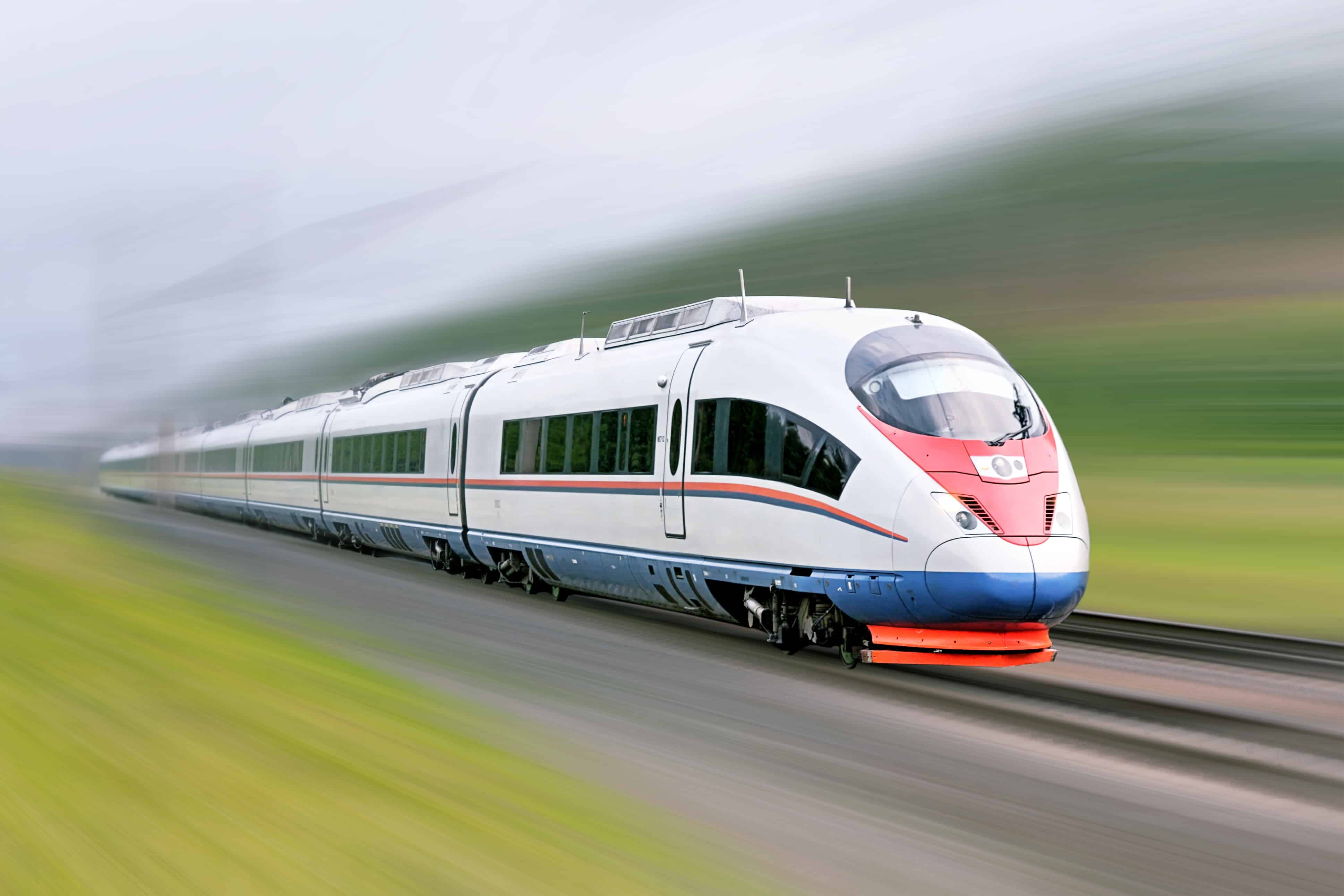 trenes modernos en Rusia