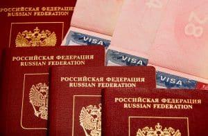 Visado en Rusia