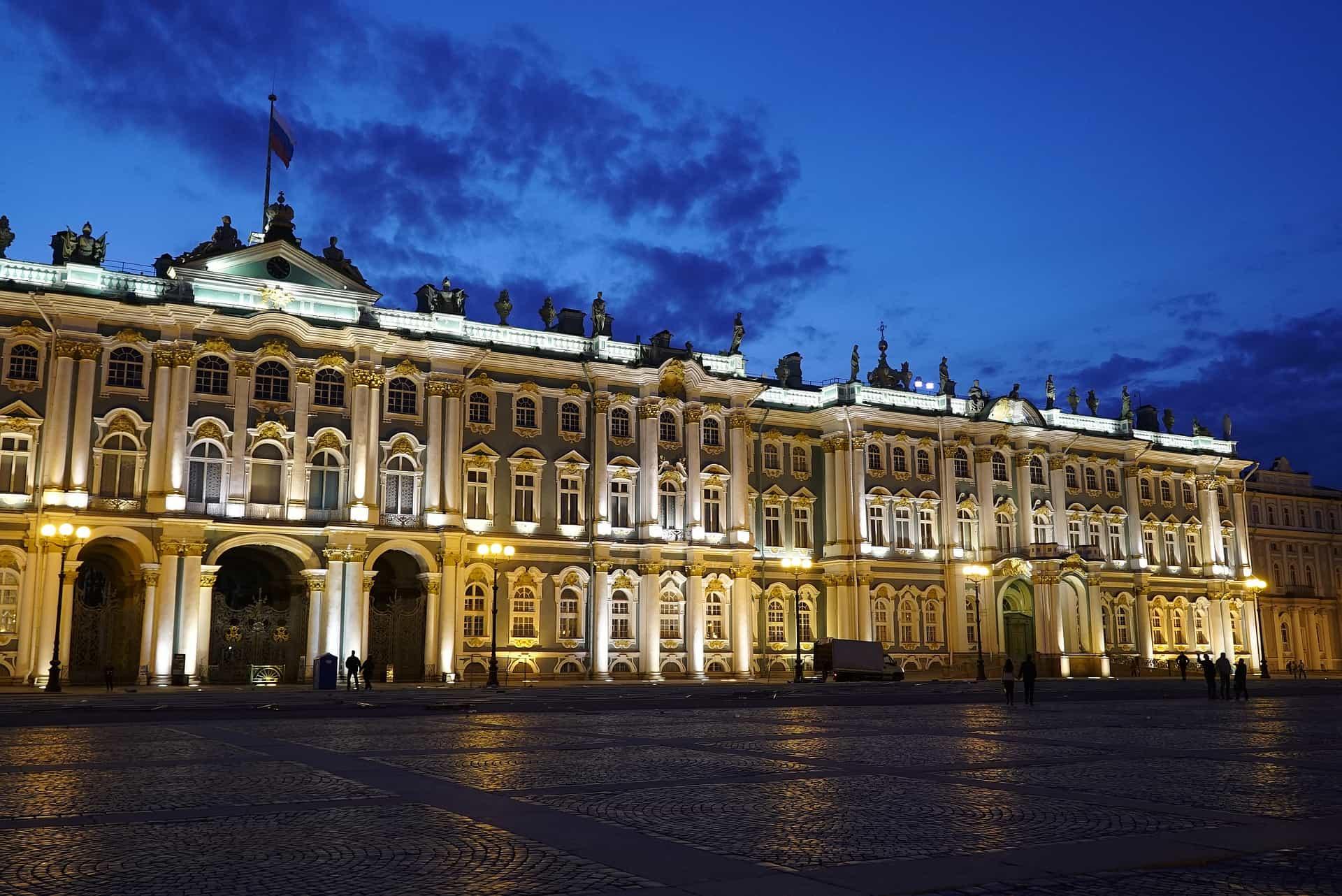 Museo El Hermitage. San Petesburgo- Rusia