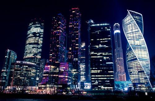 vida nocturna en Moscú