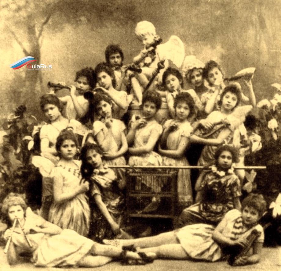 inicios del ballet ruso